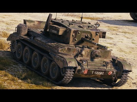 World of Tanks Cromwell B - 9 Kills 4,1K Damage thumbnail
