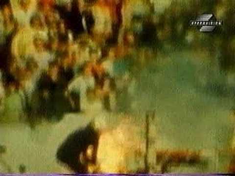 F1- 1973- Kyalami- Hailwood Tries To Help Regazzoni