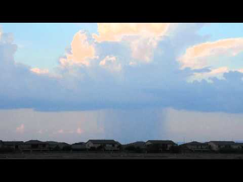 Isolated Torrential Rain over Phoenix