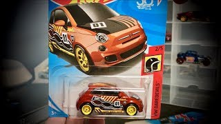 Lamley Super Showcase: All 2018 Hot Wheels Super Treasure Hunts thru the N Case Fiat 500