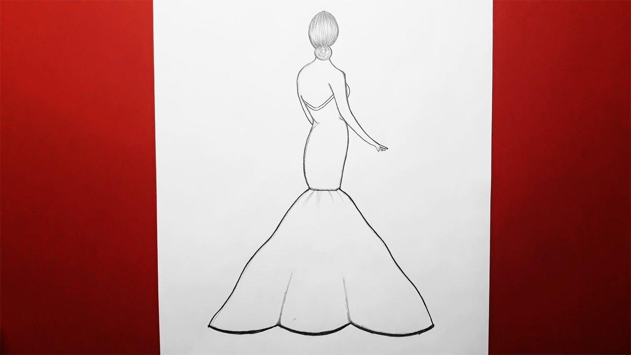 Fotograf Çeken Kız Çizimi - photographing girl drawing