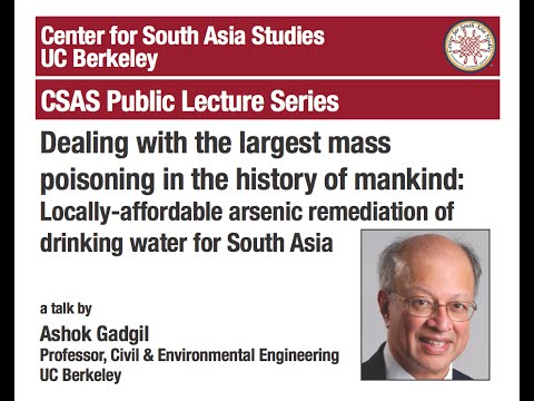 Locally-affordable arsenic remediation of drinking water for South Asia