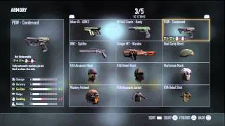 Adv. Warfare: FOUR FREE Pistols! | ALL Marksman Variant Weapons! (Pistols)