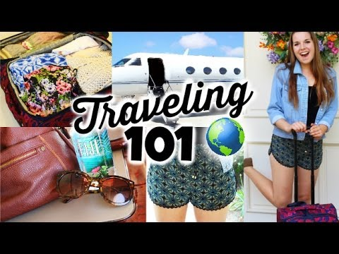 Generate Travel/Airplane DIY Organization, Essentials & Outfits! Pics