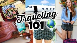 Travel/Airplane DIY Organization, Essentials & Outfits!