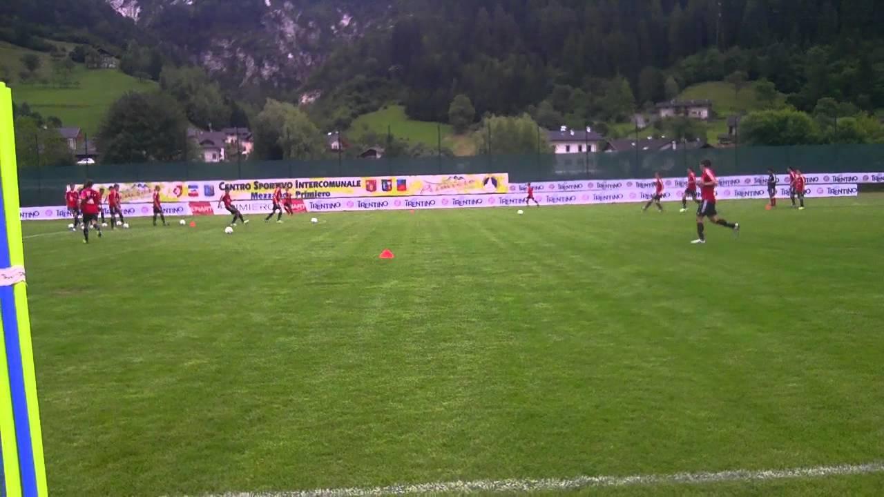 Allenamento FC Bayern München prima