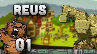 """Reus #01 """"Um novo mundo!!"""" - Gameplay Português PT-BR God Game Reus - Deuses da natureza!"""