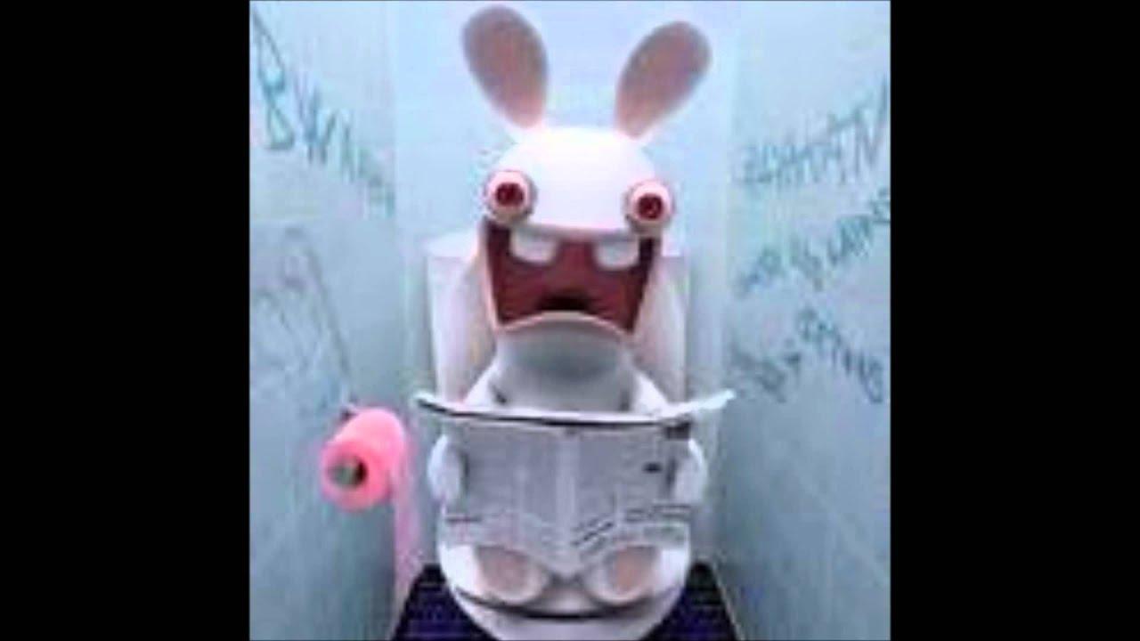 Le cri du lapin cr tin youtube - Lapin cretin image ...