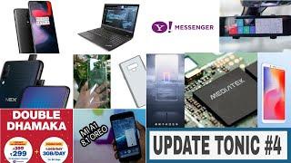 Update Tonic #4 MI A1 8.1 OREO,BSNL 4GB PER DAY, VIVO NEX, REDMI 6 ,Jio double dhamaka,oppo find x