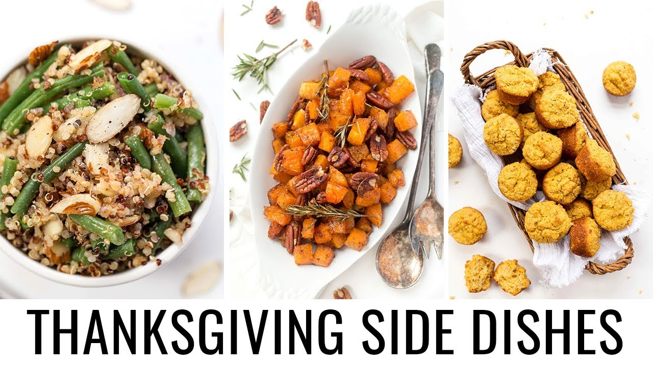 3 EASY VEGAN SIDE DISHES | Vegan Thanksgiving collab with Cheap Lazy Vegan