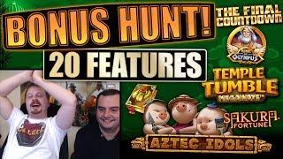 Bonus hunt #9 - Opening 20 bonuses on stream, results