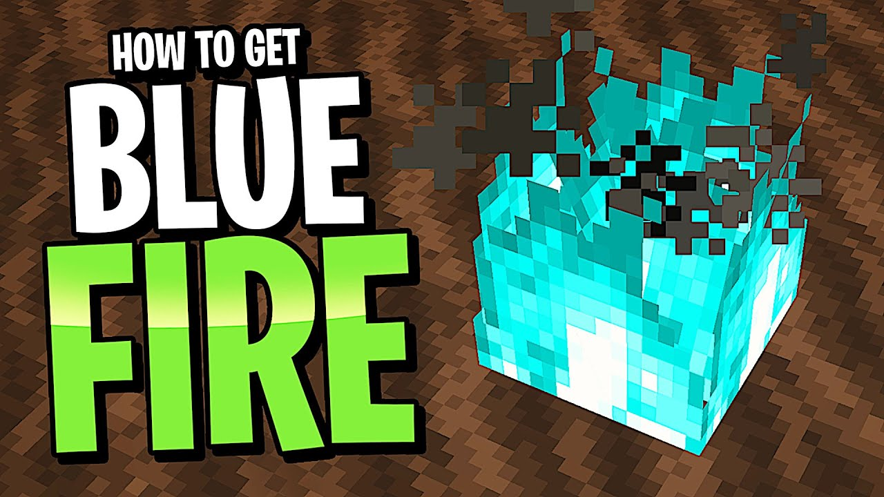 How To Get Blue Fire In Minecraft S New 1 16 Nether Update Snapshot 20w06a Vanilla No Mods Youtube
