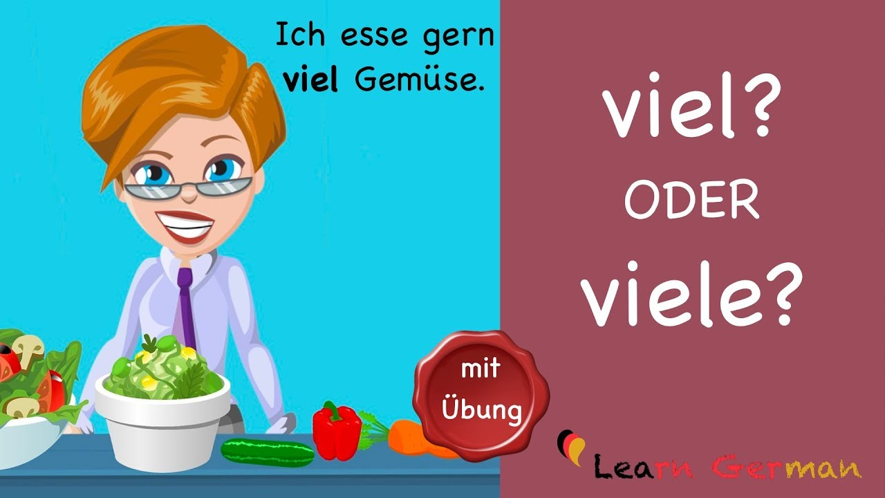 Download Learn German | Common Mistakes in German | viel oder viele? | A1 | A2