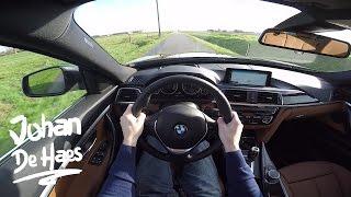 BMW 3 Series Gran Turismo 320i GT POV test drive GoPro