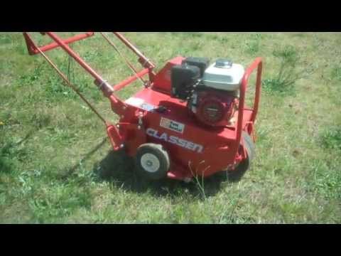 How To Aerate Plug Your Lawn Plugger Gr Aerator Conditioner Honda Engine