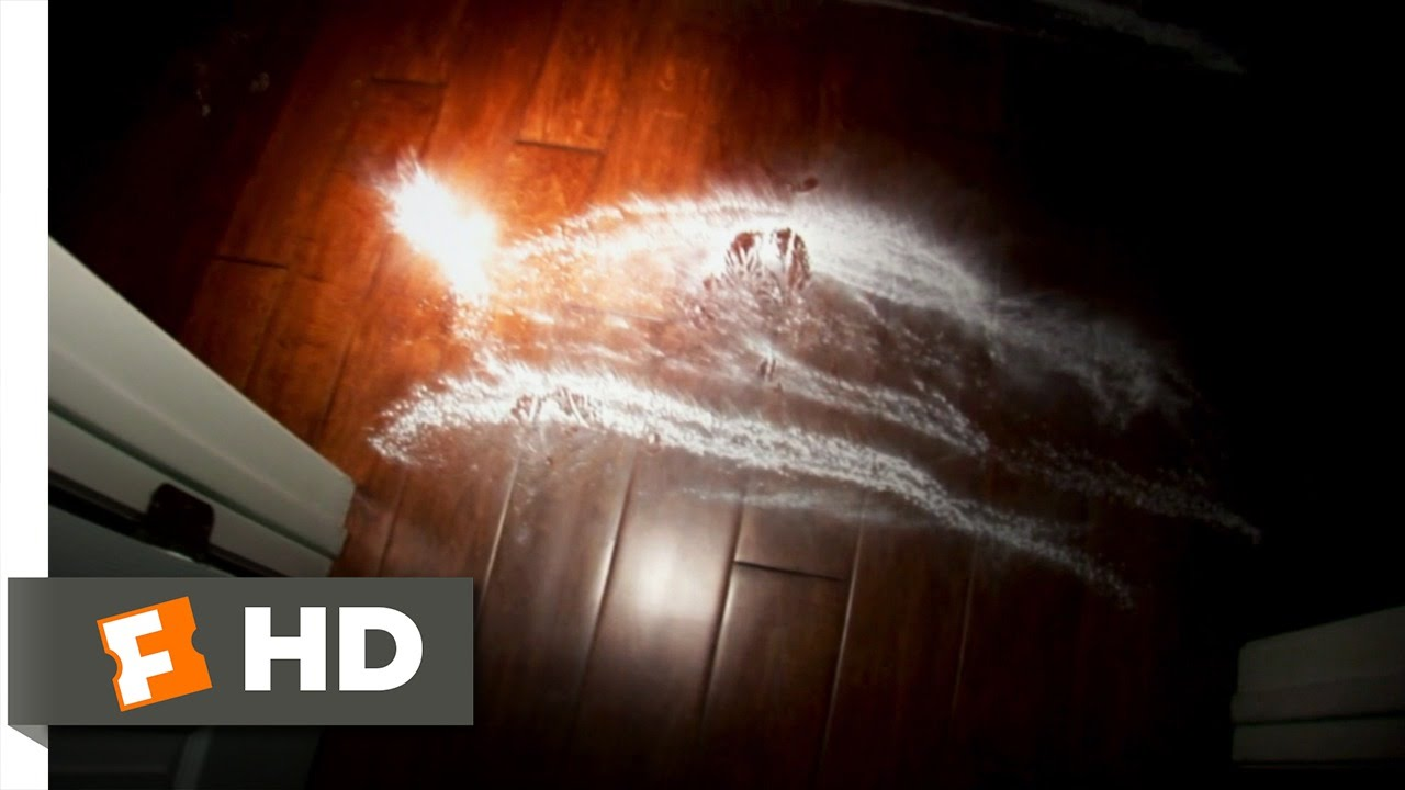 Paranormal Activity (2/9) Movie CLIP - Powder Footsteps (2007) HD