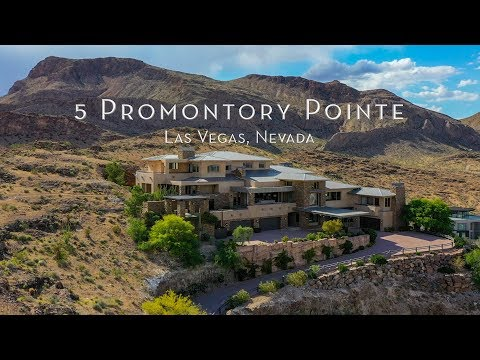 Las Vegas Home That Sits ABOVE THE WHOLE CITY | 5 Promontory Pointe Ln, Las Vegas, Nevada
