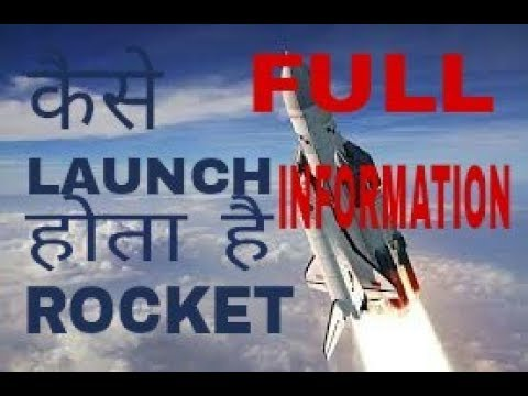 HOW to launch satellite in space