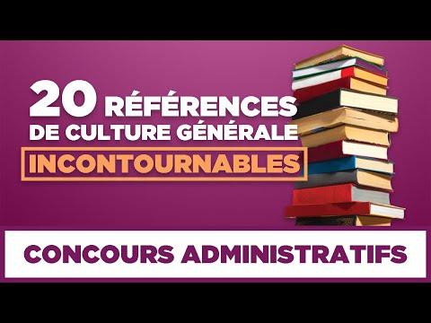 Concours administratifs : 20 références de culture générale incontournables