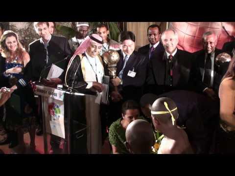 Rwanda Party with Pr. Minister Energy Globe Award for Saud   Arabia 2010 Ibrahim Alalim.MTS