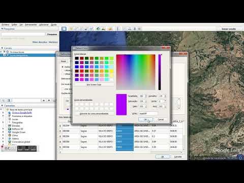 Visualização de dados shapefile no Google Earth