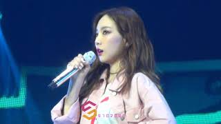 180421 TAEYEON (태연) Talk @ Best Of Best Concert in Taipei - Stafaband