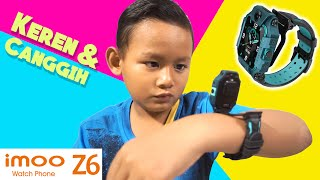 Drama Jam Tangan Imoo Z6 Asli Original -  Canggih Dengan 2 Kamera