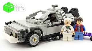 lEGO Ideas Back to the Future - The DeLorean Time Machine - LEGO 21103 Speed Build