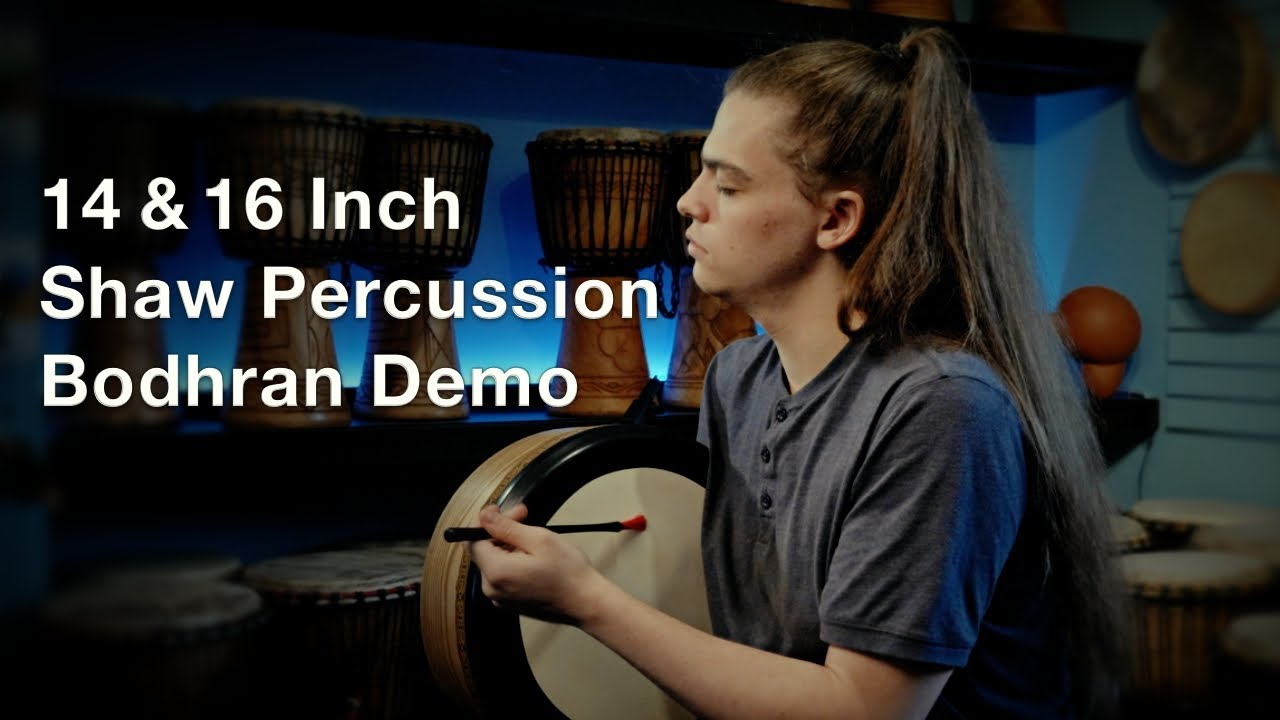 Oisin Hannigan Shaw Percussion Bodhran Demo
