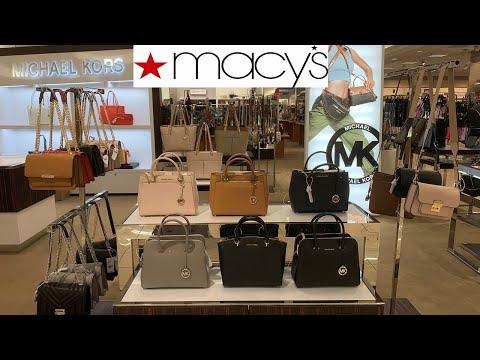 MACY'S DESIGNER HANDBAGS $ PRICES * MICHAEL KORS * COACH   Shop With Me Fall 2019