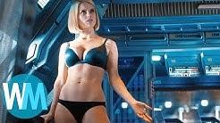 TOP 10 der unnötig sexualisierten weiblichen Filmhauptfiguren.