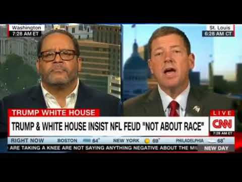 Ed Martin author of a Trump Book heated debate with Michael Eric Dyson activist