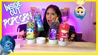 Really Awesome Inside Out Popcorn from Pixar Pier!   Disneyland Resort