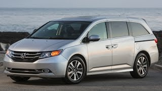 2015 Honda Odyssey Start Up and Review 3.5 L V6