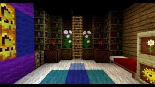 Как сделать из коробки красивый дом в minecraft #2 Интерьер