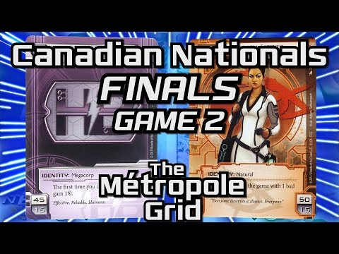 Netrunner Canadian Nationals 2016: Finals - Game Two