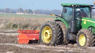 Freeland: Rotary Plow in Rice