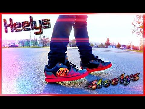 VLOG: Кроссовки на роликах Хилис 👟 Реально Крутые Кроссовки Первый заезд 👟  Heelys Race Challenge