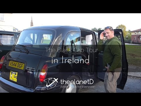 Black Cab Tour of Belfast, Northern Ireland