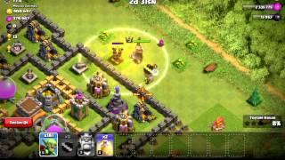 Clash Of Clans Tek Tur Saldirilar#4 Goblin