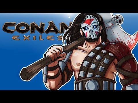 Conan Exiles - HARD LIFE OF DELIRIOUS! (Surviving with friends!)
