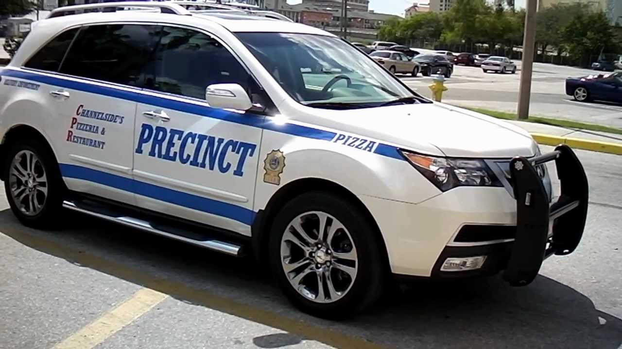 Nypd Police Car Look Alike Pizza Delivery Suv In Tampa Florida By Jonfromqueens You