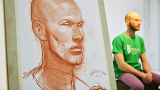 Александр Рыжкин об этапах рисования. Первая часть, о голове