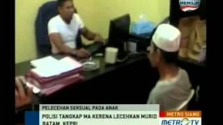 Repeat youtube video Cabuli Muridnya, Seorang Guru Ngaji Ditangkap Polisi
