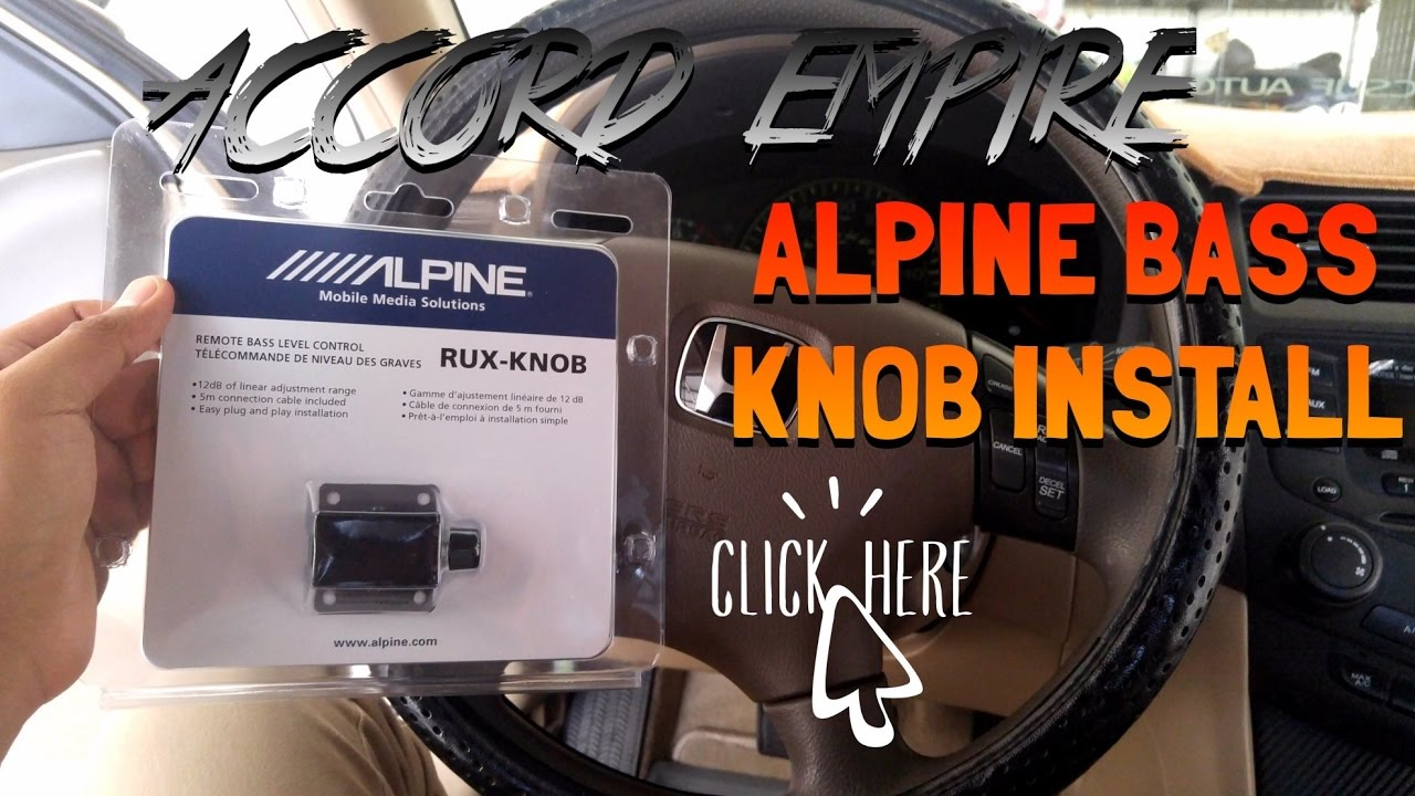 Wiring Remote Knob Free Vehicle Diagrams How To Remove And Tube Install Bass For Amp Youtube Rh Com Removal History