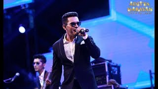 Aditya Narayan live in Sri Lanka | Sinhala Hindi Lovely Mushup | Cover Version