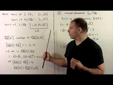 FIT2.2.2.  Example:  Quartic Extension