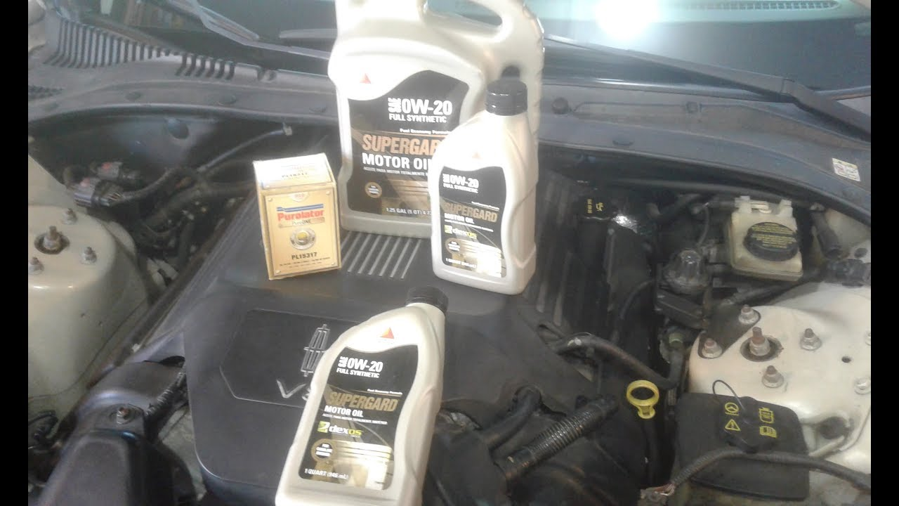 Lincoln LS Oil Change Citgo 0w20