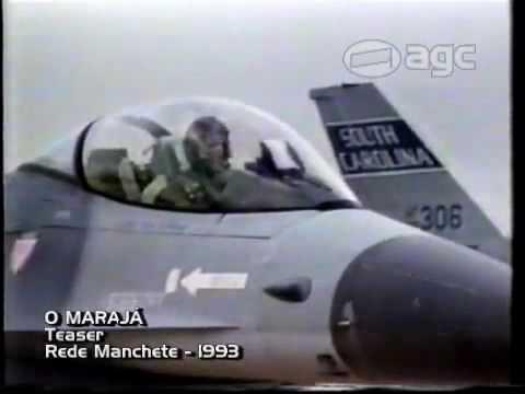 REDE MANCHETE CHAMADA O MARAJA 1993