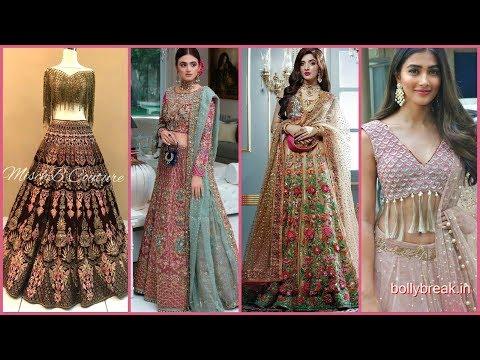 Top Stunning & Stylish Party Wear Lehenga Choli Design Ideas For Girls In 2020